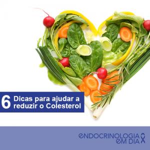 6 dicas colesterol